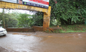 Status of Chania River Bridge Barrier in Thika Town, Kiambu County